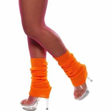 Oranje beenwarmer kopen